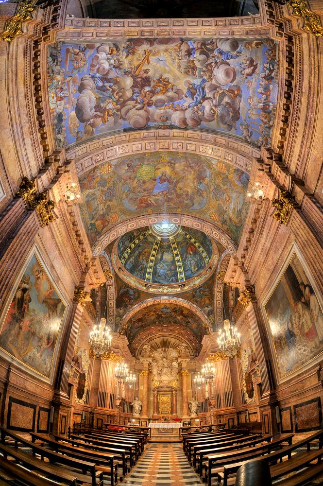 Restauración de la capilla de la Virgen de la Cinta de la Catedral de Tortosa.cle. Riner.