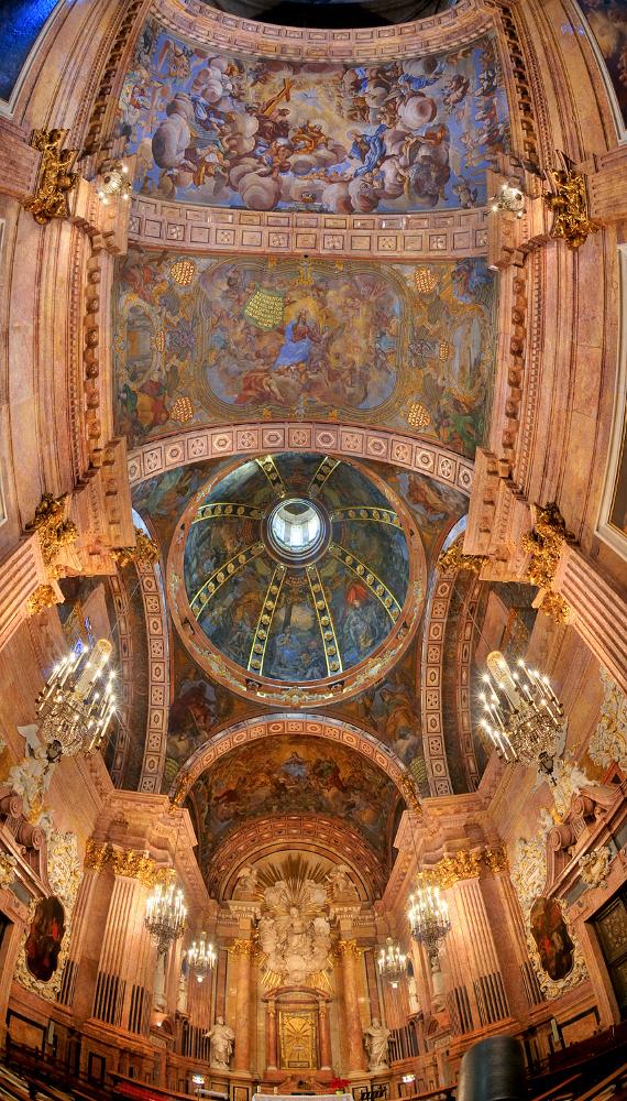 Restauración de la capilla de la Virgen de la Cinta de la Catedral de Tortosa.